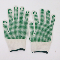 Hot Popular China Manufacturer Knitted Gloves Black Pvc Dot