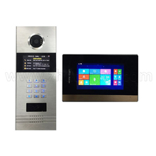 Home security TCP/IP video doorphone intercom with room to room calling function for building multi-apartments
