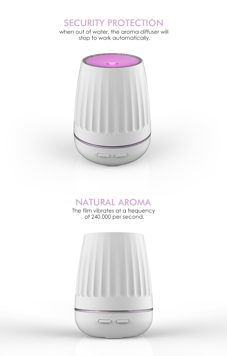 Home and office 120ml Ultrasonic Aromatherapy Essential Oil Diffuser Cool aroma diffuser