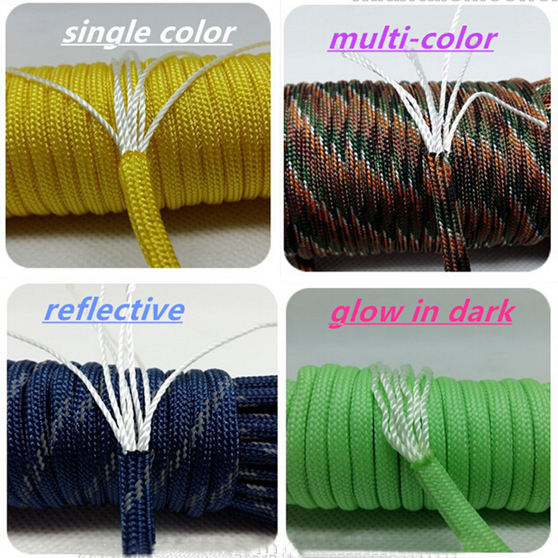 2016 suvival Type III 7 Strand Cord 4 mm 550 parachute bracelet