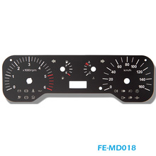 FE-MD018 2D Flat Auto Dashboard Gauge and 2D Digital Speedometer Auto Panel For Cars