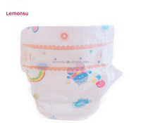 Good machine clothlike disposable baby diaper for velcro tape super soft