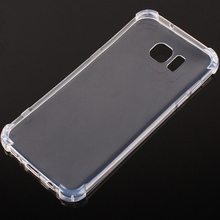 High Quality Transparent TPU Case for Samsung Galaxy S7 edge Silicone Soft Clear Cover