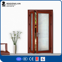 ROGENILAN 45 series simple design exterior mon and son door from China supplier