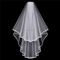 China Supplier Wholesale White Bride Veil