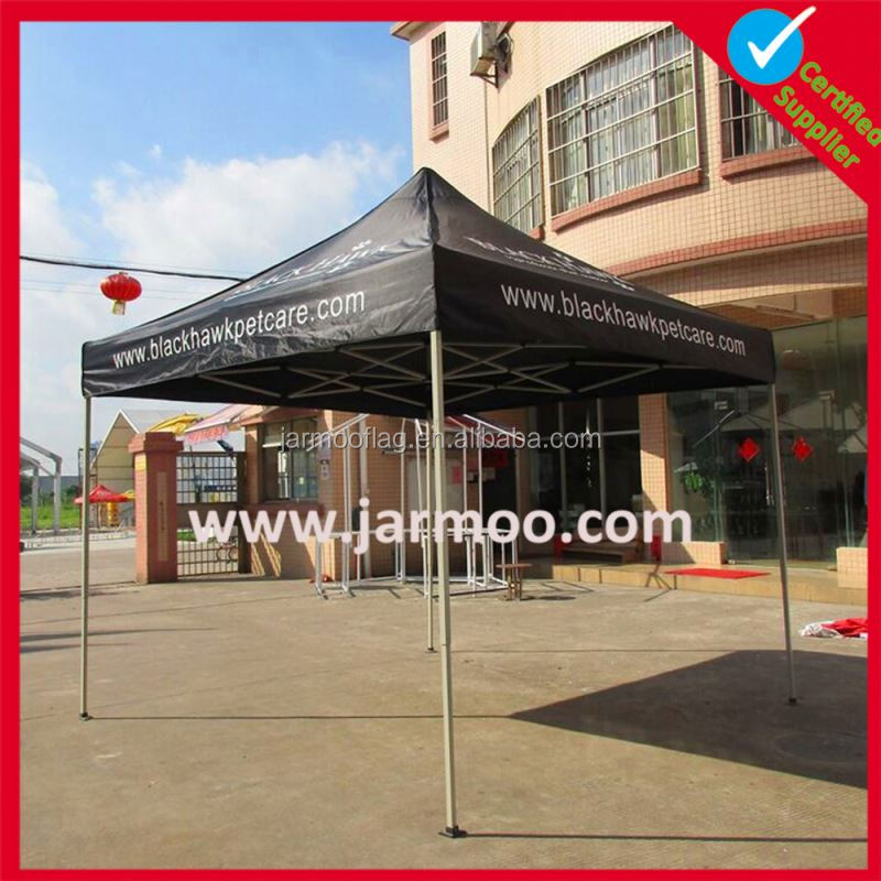 3X3M Best Quality Waterproof Fireproof 100% PVC Aluminum Popup Hexagonal Gazebo White Canopy Big Outdoor Advertising Tent