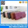 New products 2015 oil cloth handbag pu leather women wallets and purses