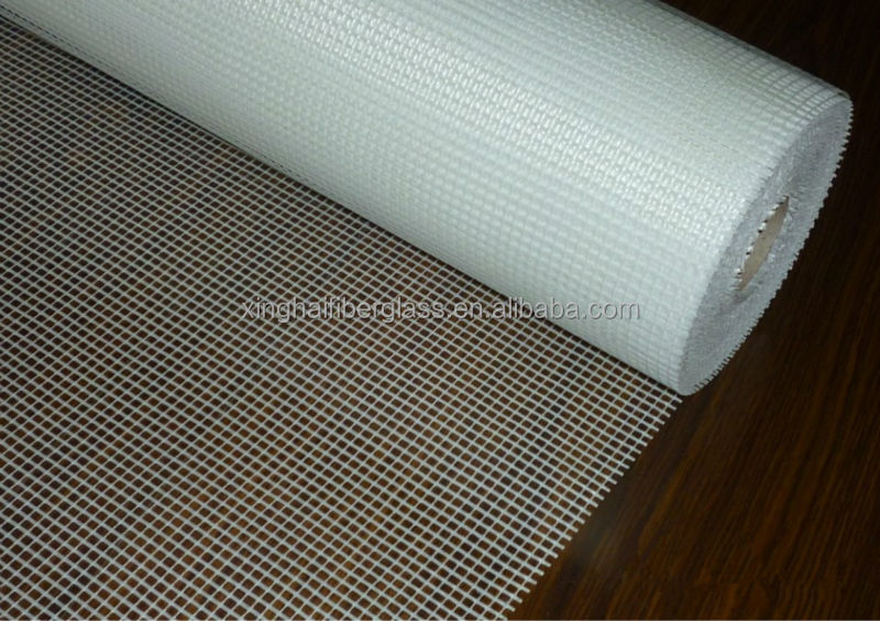 Alkali Free Alkali Content and C-Glass Yarn Type fiberglass grid for exteral wall reinforcement(ISO9001:2000)