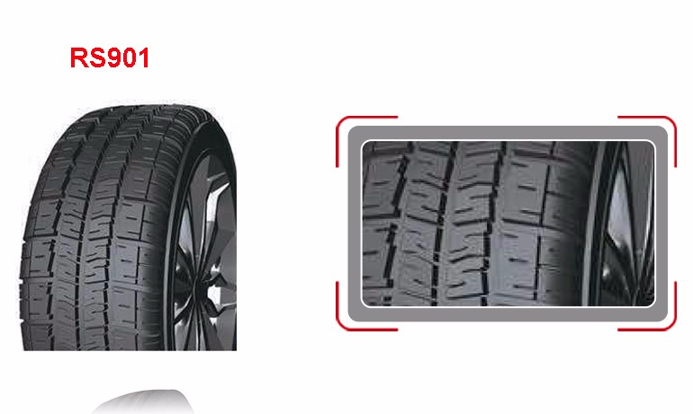 RS901 pattern Roadshine China distributors cheap car tire 195R15C