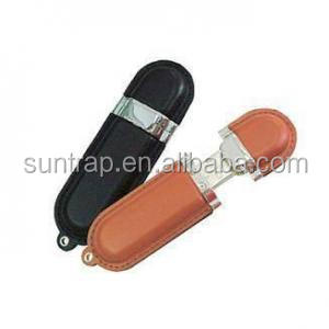 concise high quality 8gb 16gb leather usb flash drive