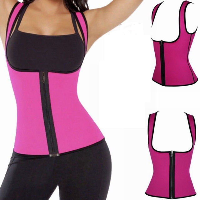 Youdong brand wholesale sauna sweat reducing body shaper vest women neoprene slimming vest
