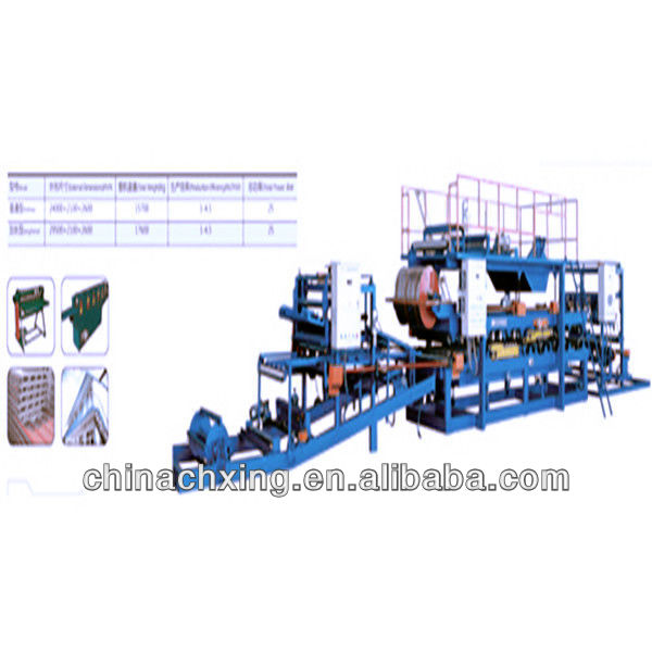 new type WCJ Horizontal Color Steel Sandwich Panel Compounding Machine/factory price