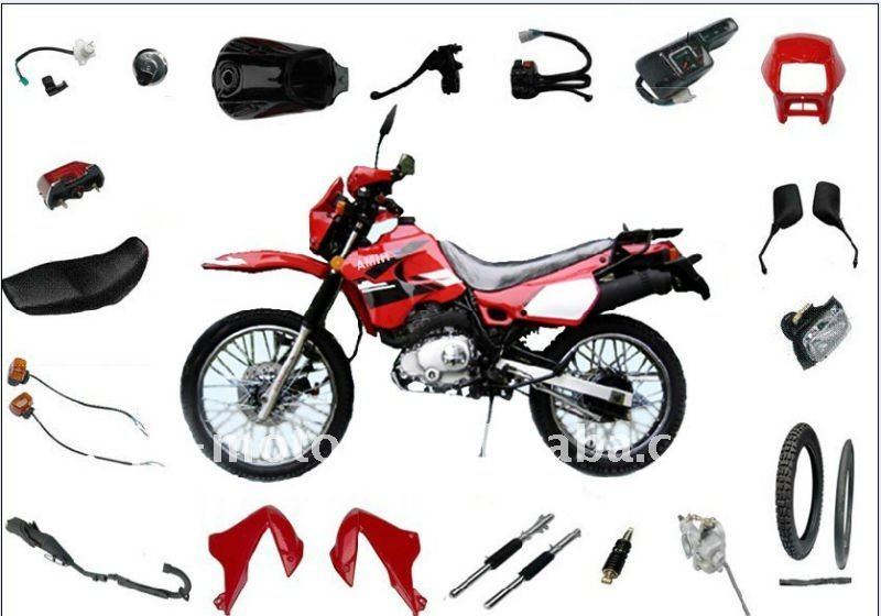 Scooter QINGQI XM200GY parts