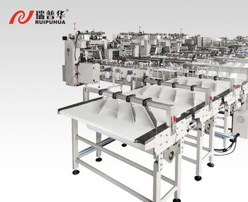Fully automatic multiple-packaging line pillow packing machine for biscuit