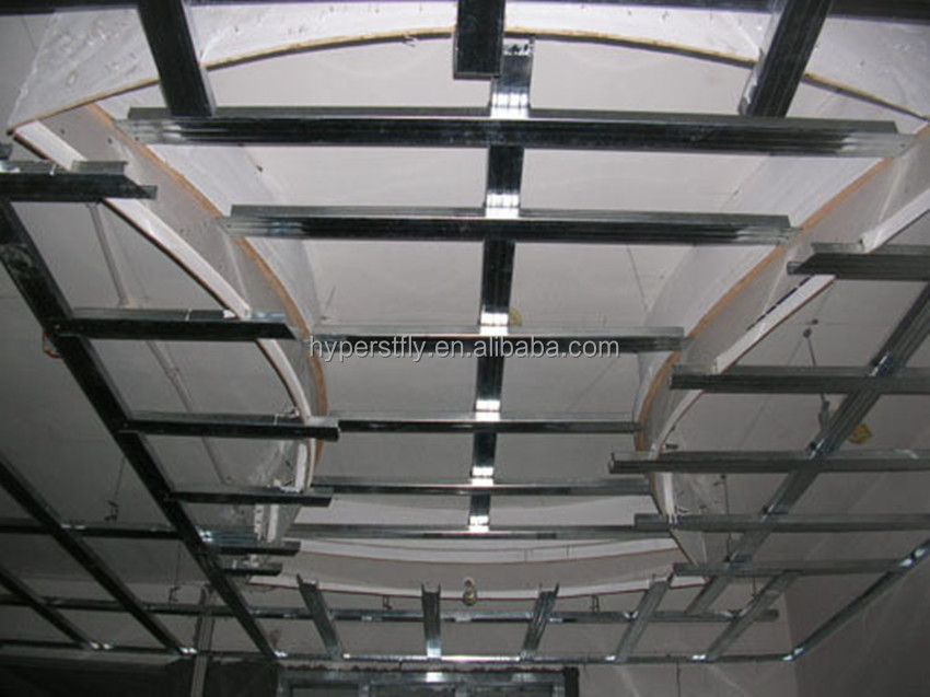 Simple installation light gauge steel roof trusses for house building