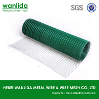 Low carbon steel 1x1 pvc coated welded wire mesh ( SGS )