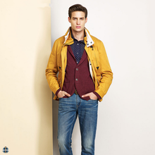 T-MC005 Top Quality High Fashion Mens High Collar Winter Coats