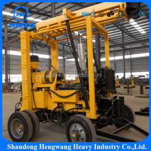 200m Hydraulic truck Mounted Core Well Drilling Rig