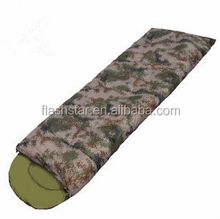fashion camouflage envelope thicken sleeping bag
