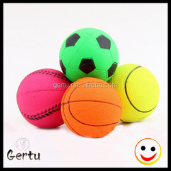 2016 cheapest dog rubber ball toy