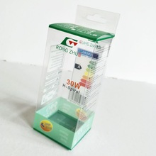 Free designed pvc bulb packaging box with cheap price China supplier