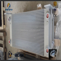Excavator Engine Parts E330B Excavator Oil Cooler,E330 Hydraulic Fan Oil Cooler