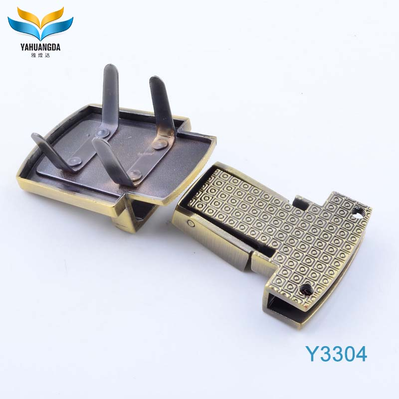 Custom metal hardware fashion special handbag metal accessories wholesale