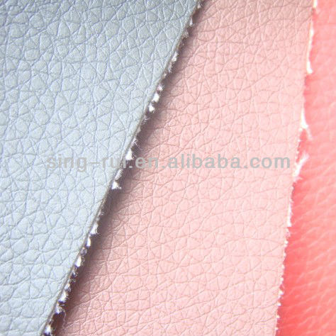 PU Upholstery Artificial Automotive Meter Leather Embossed