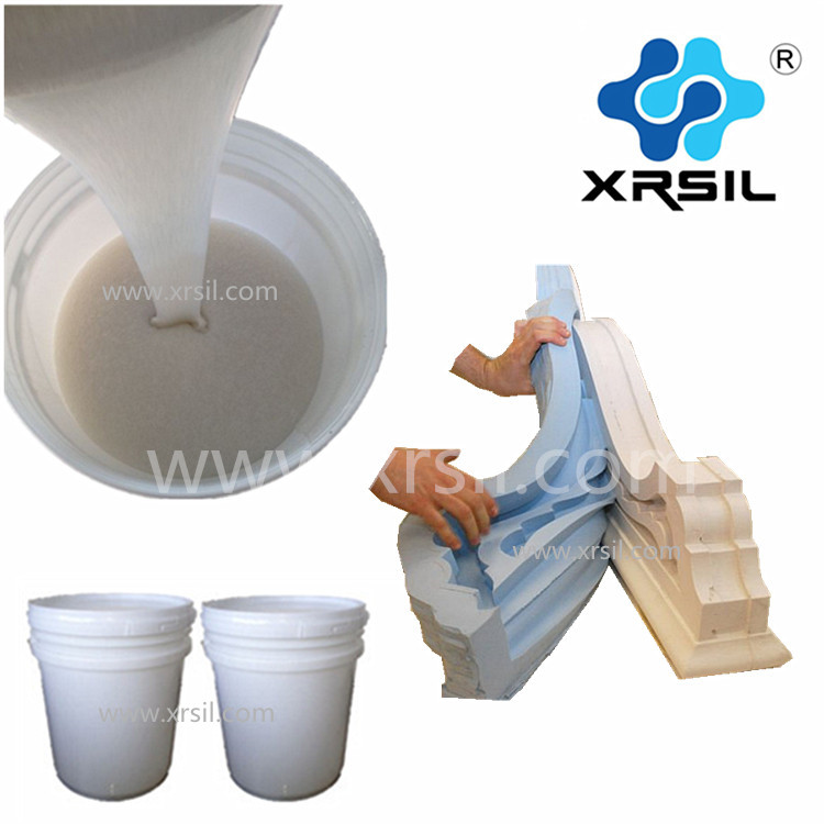 Price of high quality RTV-2 liquid silicone rubber for concrete/plaster casting mold making