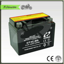 best price 12v 3ah GT4L-BS MF motorcycle battery