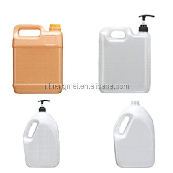 Eco-friendly can recycling plastic containers 5 liters with pump J1162