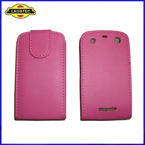 Colorful Leather Flip Case,Holster Leather Case,Cover for Blackberry Curve 9360 Apollo