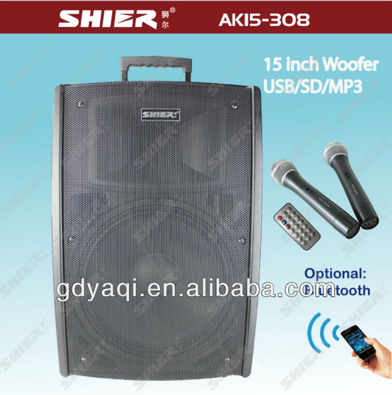 Guangzhou professional bluetooth line array sound equipment AK15-308