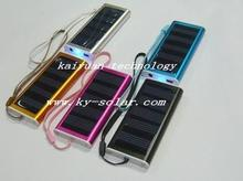 mini backup mobile solar panel battery charger