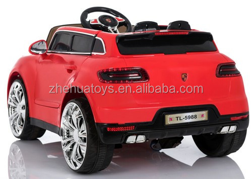 Kids electric ride on car toy 2 seater for 2016