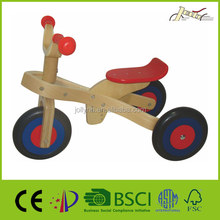 Safety Wooden Tricycle Toys for Baby Education and Training with Low Price