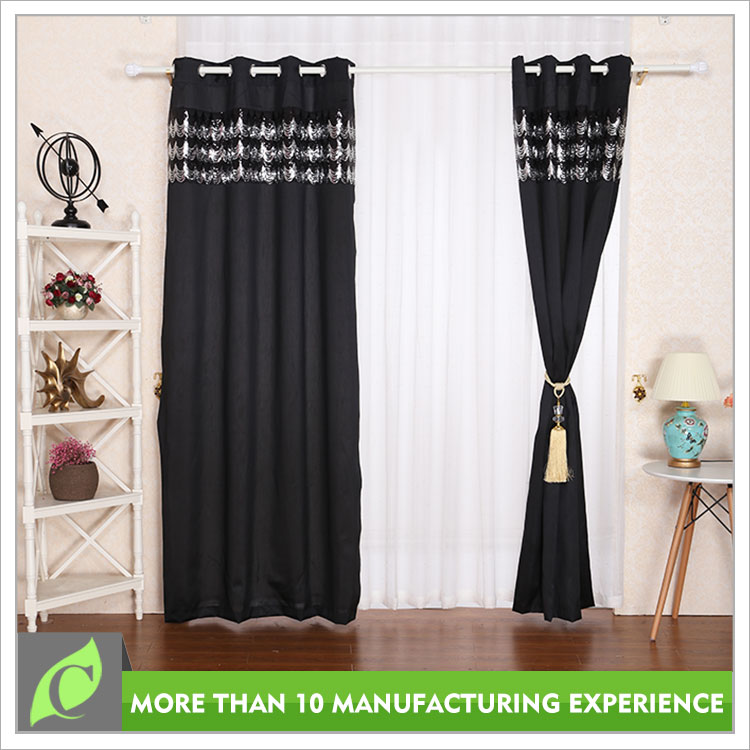 Alibaba China Polyester Window use black out curtain