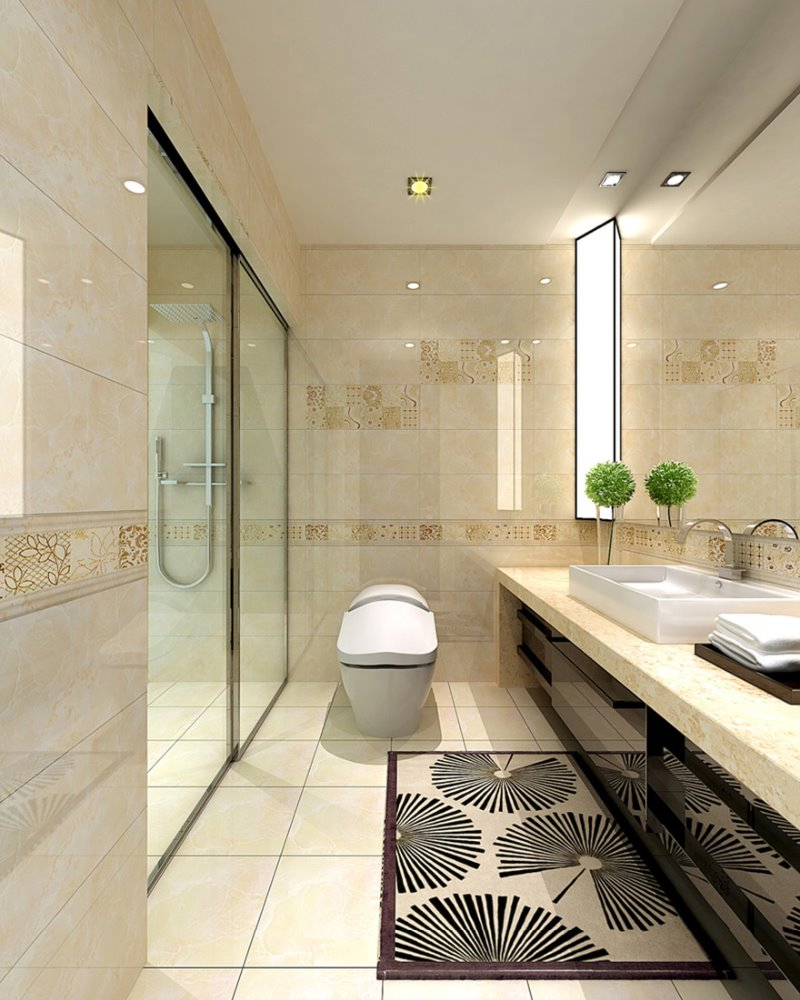 Foshan ceramic tiles manufacturer made by mould bathroom tile <strong>wall</strong> 240x660