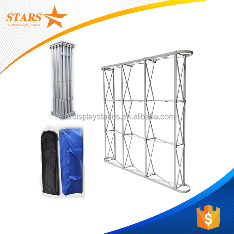 Factory Price Aluminum Stage Backdrop Stand, Tension Fabric Backdrop