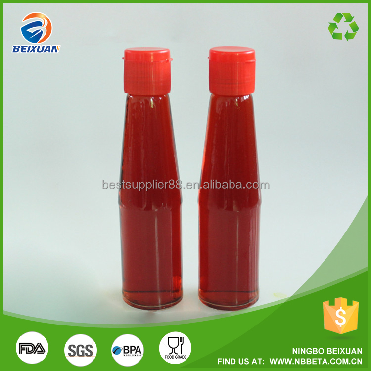 200ml Glass Olive Oil Bottles Wholesale Empty Bottle For Ketchup