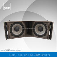 L212 3-way pa system large concert performance 1000w rms speakers