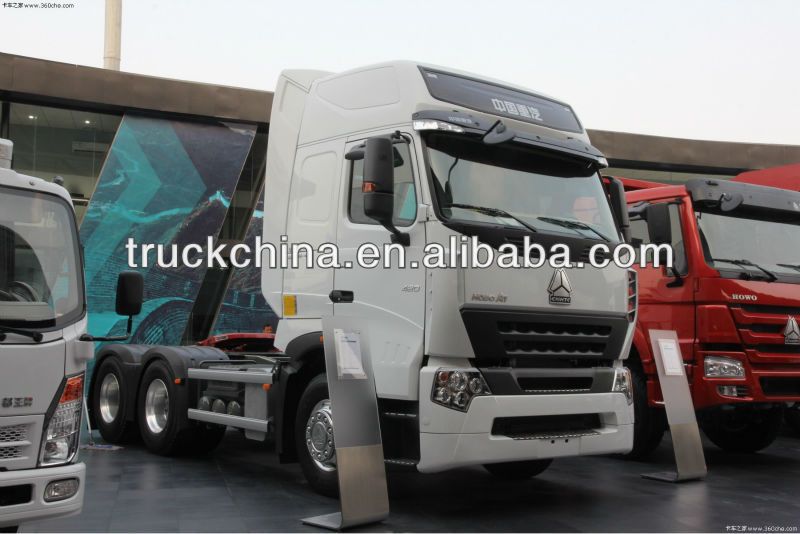 Best Howo A7 double axle Tractor Truck For Sale