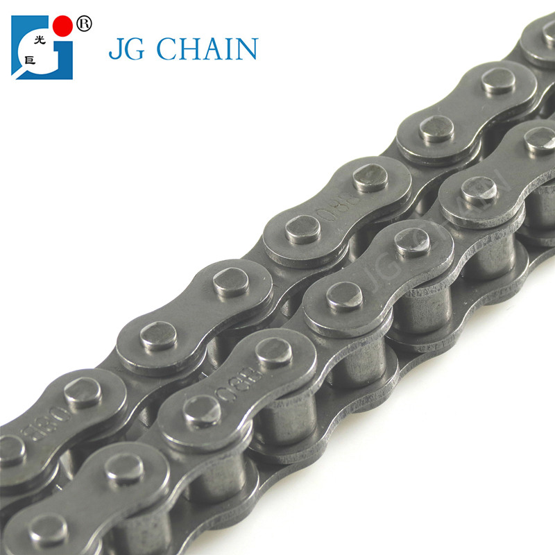 08B high precision power tools spare parts single strand transmission parts alloy roller chain