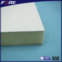 Noiseproof UV resistant Fiber Glass Reinforced Plastic FRP/GRP pu foam core wall panel for decoration