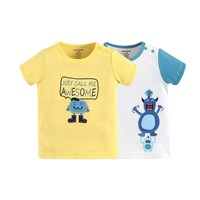Factory cotton baby clothes wholesale cotton baby tshirt for 0-6years