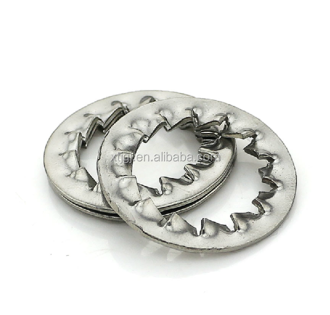 Made in China Serrated tooth wahser DIN6798 lock washer internal tooth washer