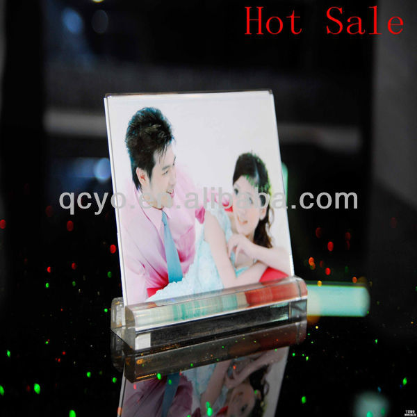 Hot Sale! acrylic customized photo frame for picture