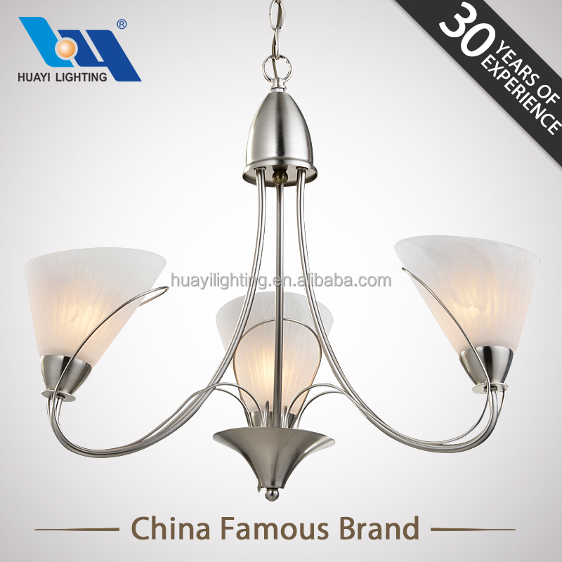 Home decoration Brand stores European style modern glass pendant lamp