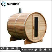 Luxury Outdoor Houses Wooden Barrel Sauna