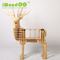 Awesome Birch Plywood Deer Talbe